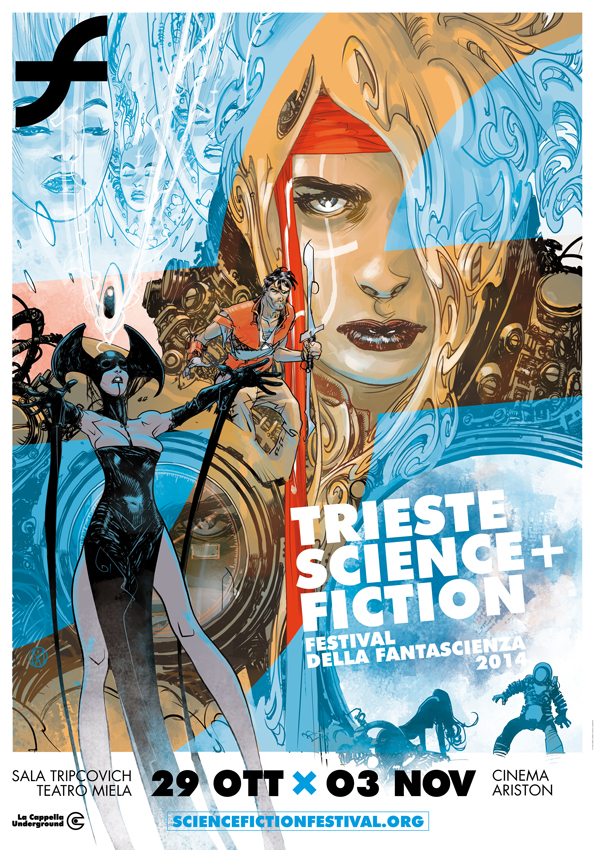"""La città di Trieste torna ad essere la capitale della fantascienza dal 29 ottobre al 3 novembre 2014 con la quattordicesima edizione del festival """"Trieste Science+Fiction"""", organizzato da La Cappella […]"""