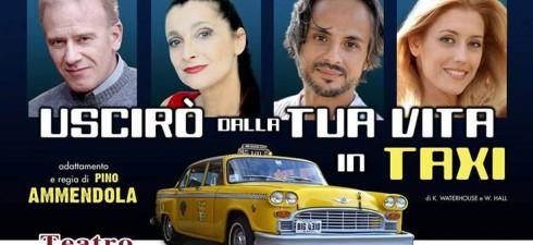 """Cari lettori di Mondospettacolo, oggi la vostra redAttrice Claudia Conte vi presenterà """"Uscirò dalla tua vita in taxi"""", spettacolo teatrale in scena al Teatro Ghione dal 30 settembre al..."""