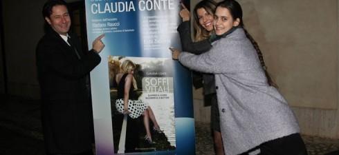 """Prosegue con successo il tour di presentazione di """"Soffi Vitali. Quando il cuore ricomincia a battere"""", il primo romanzo di Claudia Conte, 22enne dall'inarrestabile talento artistico. L'evento, che vanta il..."""