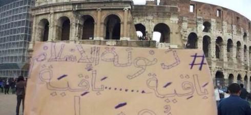 """L'ultima minaccia dell'Isis: """"La bandiera nera sul Colosseo"""". Nel mirino pure il gasdotto Greenstream che dalla Libia arriva a Gela, in Sicilia. È una delle principali linee di rifornimento energetico..."""