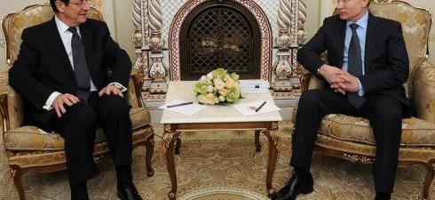 Vladimir Putin ha incontrato quest'oggi il presidente della Repubblica di Cipro Nicos Anastasiades, che si trova in Russia in visita ufficiale. Qui di seguito una parte dell'inizio del colloquio con...