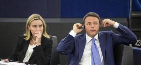 """Roma, 12 FEB. – """"Ecco l'italietta del trio medusa Renzi-Mogherini-Gentiloni. Propongo per loro il tapiro d'oro di Striscia la notizia. In politica estera sono del tutto inutili ed ininfluenti"""". Lo..."""
