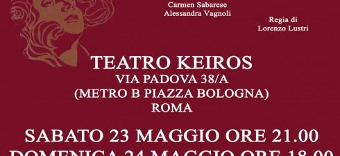 """La LaleForLele Production presenta lo spettacolo """"Le voci del cuore – Quattro storie di donne"""" (scritto da Gabriele Ottaviani, diretto da Lorenzo Lustri e interpretato da Claudia Crescenzi, Carmen Sabarese..."""