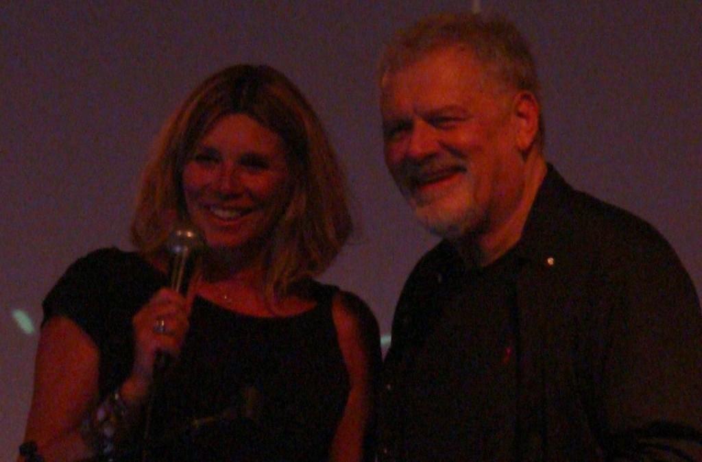 Fabio Frizzi con Cinzia Monreale (photo by Paolo Carnelli)