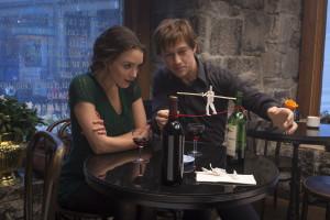 Annie (Charlotte Le Bon) and Philippe Petit (Joseph Gordon-Levitt) in TriStar Pictures' THE WALK.