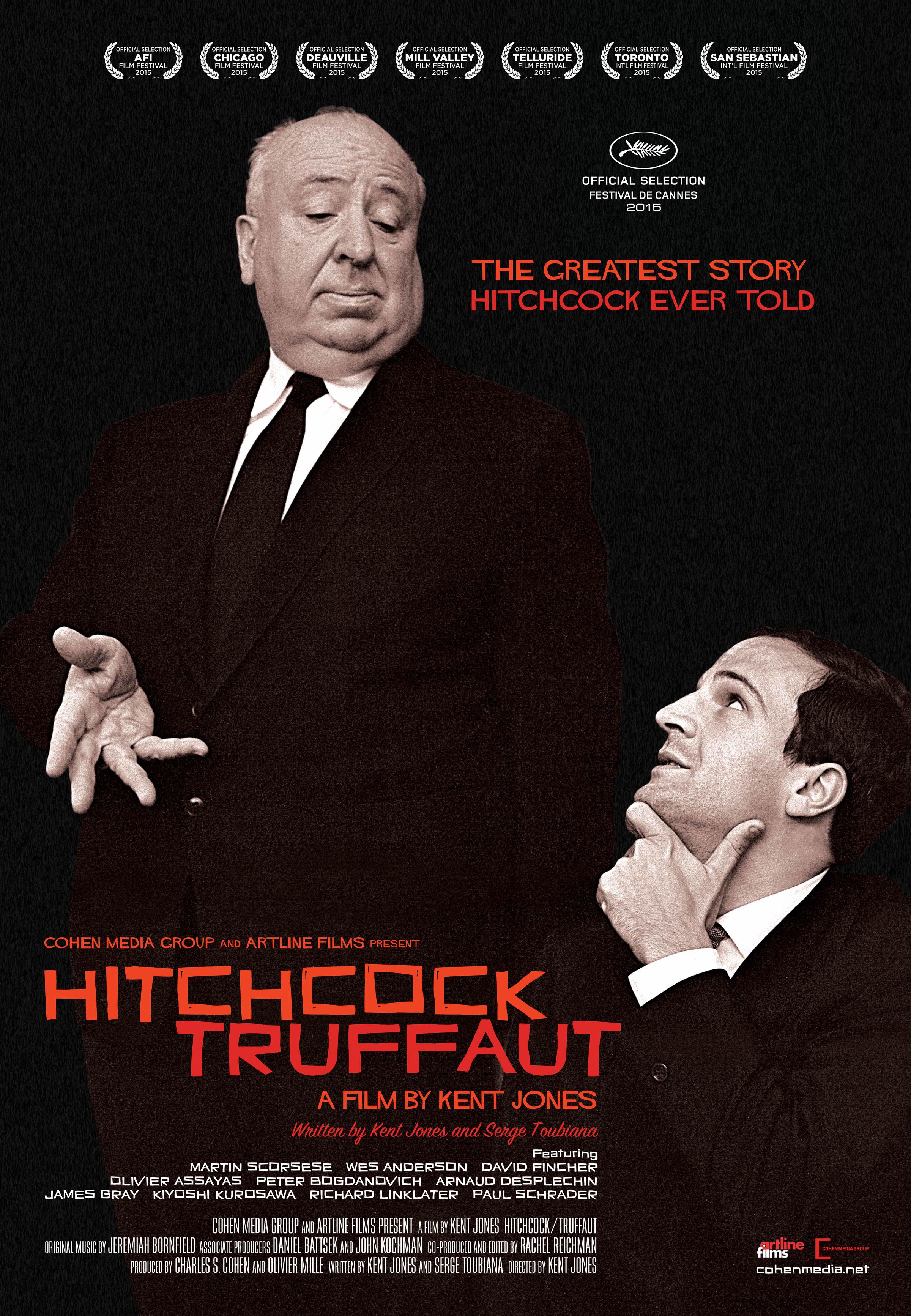 """Ultima giornata della Festa del Cinema di Roma. Stamattina abbiamo recuperato il bel documentario """"Hitchcock –Truffaut"""" di Kent Jones. Nel 1962 i due grandi registi Alfred Hitchcock e François Truffaut […]"""