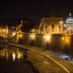 L'inseguimento sotto il Lungotevere di Roma