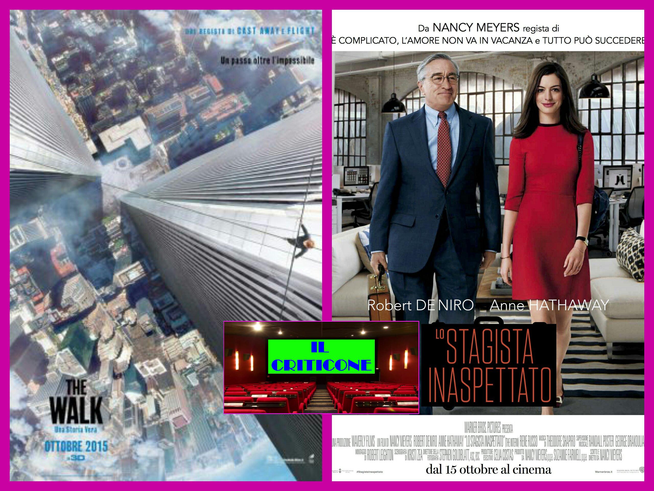 """Quinta puntata de """"Il Criticone"""", con le recensioni dei film in sala. Oggi recuperiamo l'emozionante""""The walk"""" e il simpatico """"Lo stagista inaspettato"""".  THE WALK PresentatoallaFesta del cinema di Roma, […]"""