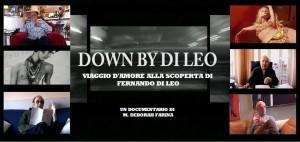 locandina down by di leo con immagine macchina 1
