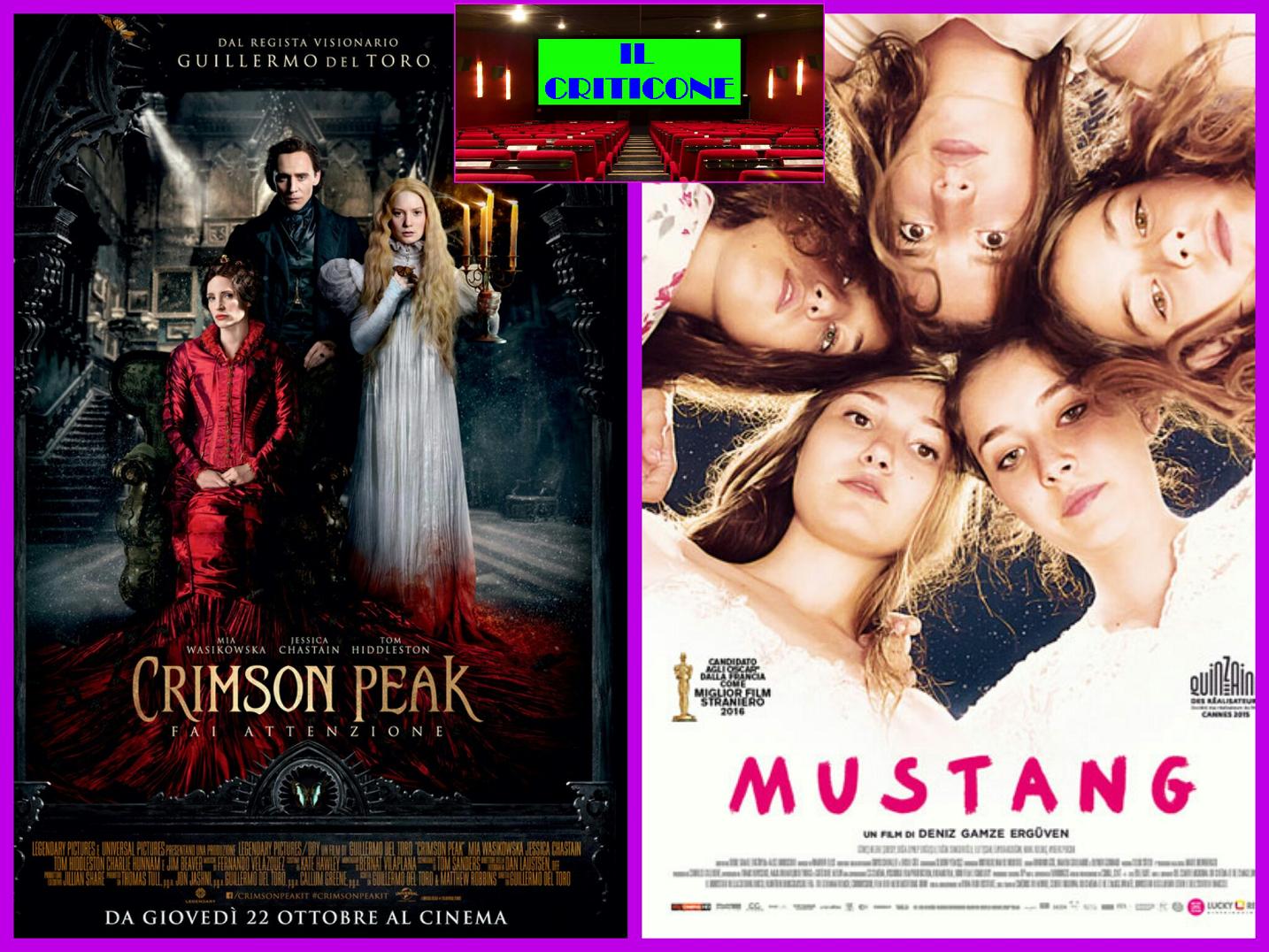 """Sesta puntata de """"Il Criticone"""" con due film molto diversi tra loro, ma con un comun denominatore, l'oppressione casalinga: """"Crimson Peak"""" e """"Mustang"""".  CRIMSON PEAK Il ritorno al gotico […]"""