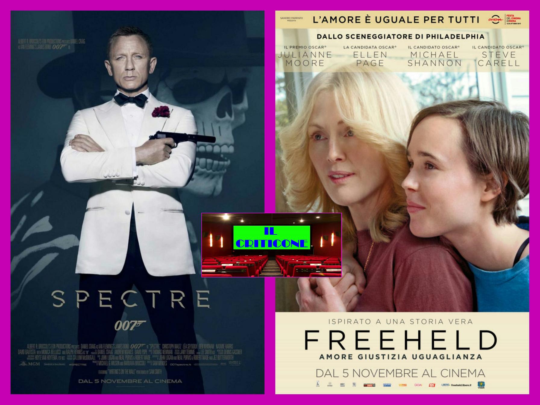 """Ancora una puntata de """"Il Criticone"""". Oggi parliamo dell'attesissimo nuovo film di007 """"Spectre"""" e di """"Freeheld"""", entrambi già visti alla Festa del Cinema di Roma.  SPECTRE Città del […]"""