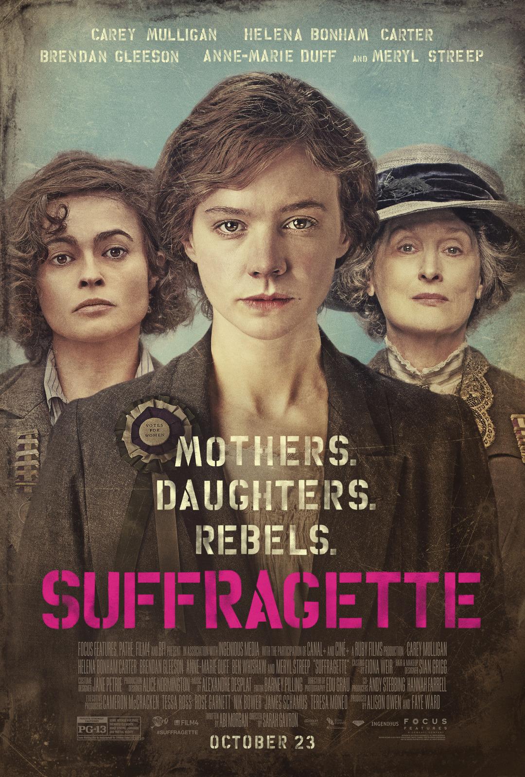 """Ilfuturo Oscar """"SUFFRAGETTE"""" diretto da Sarah Gavron con la partecipazione di Meryl Streep, sarà il film che aprirà il 33° TFF, peccato che è già stato visto in mezzo mondo. […]"""