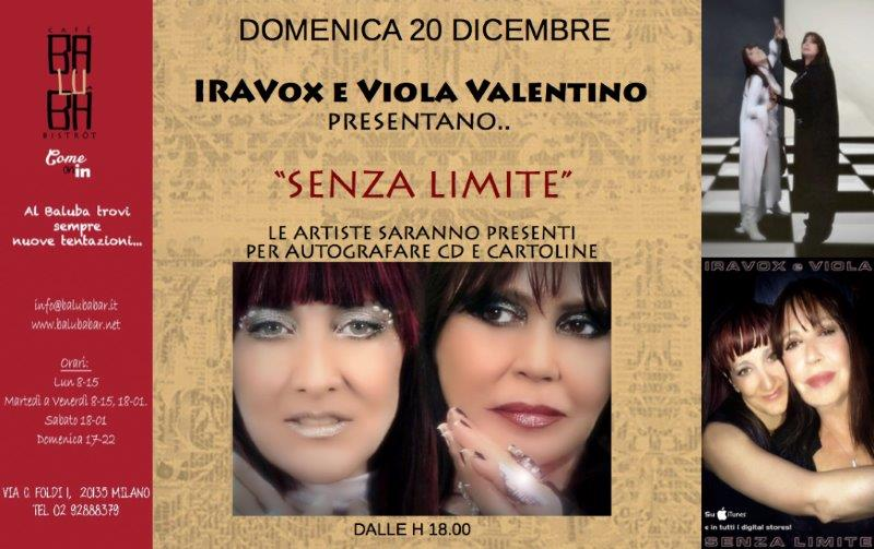 Iravox e Viola Valentino saranno presenti per salutare i fan, autografare CD e cartoline e fare fotografie. Le due artiste verranno intervistate dal giornalista Lino Fari e spiegheranno come nasce […]