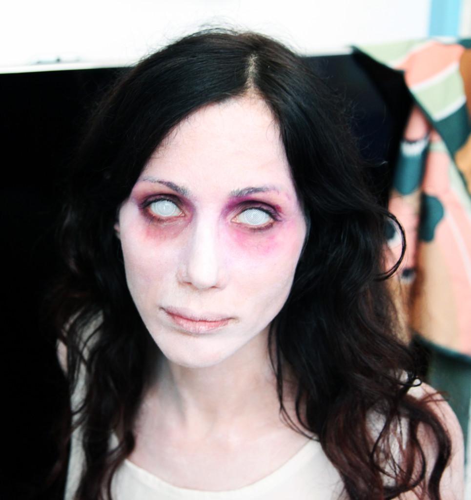 Elisabetta Rocchetti in versione horror