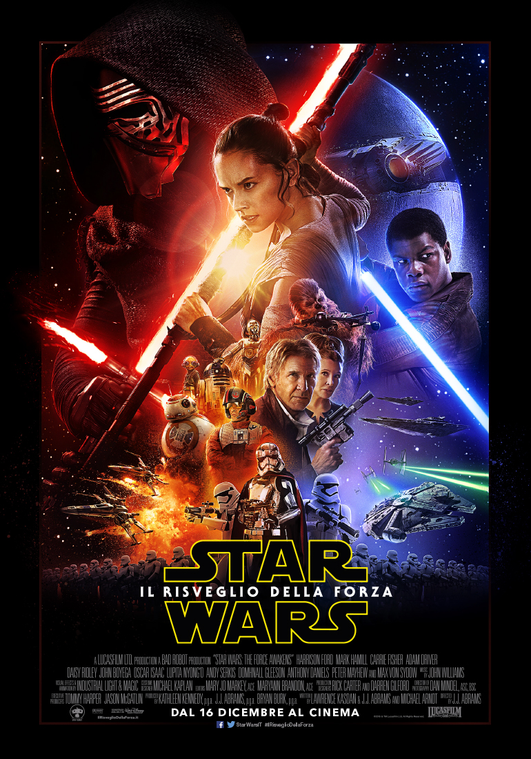 """Esordio con il """"botto"""" ieri per """"Star Wars – Il risveglio della forza"""" nei cinema italiani. Il settimo capitolo della saga di """"Guerre Stellari"""", uscito in oltre 850 sale ed […]"""