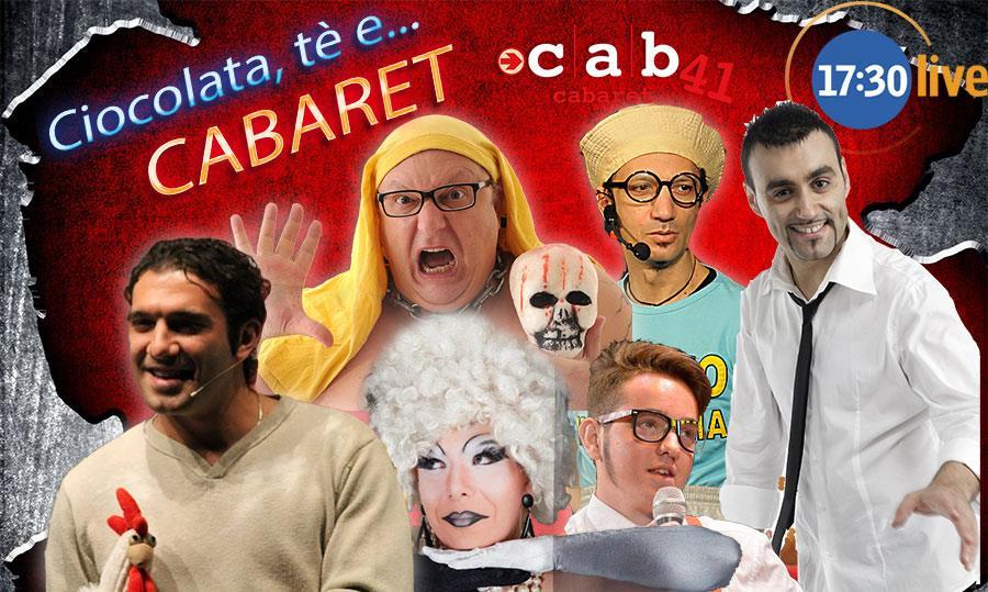 Domenica 6 Dicembre ore 17,30 al Cab 41 di Via f.lli Carle 41 Torino, secondo appuntamento pomeridiano con la comicità targata Cab 41. Si inizia alle 17,30! E per gli […]