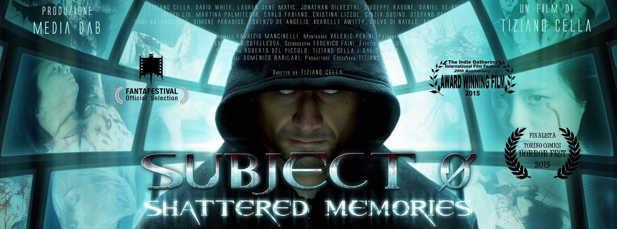 """Tiziano Cella è il simpatico regista ed interprete romano del lungometraggio """"Subject 0 Shattered Memories"""". Il suo film è stato proiettato sul grande schermo della sala rossa del Torino Comics […]"""