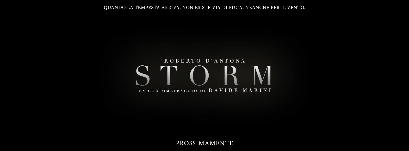 Claustrofobico, asfissiante, cupo. Questi sono i primi aggettivi che mi vengono in mente guardando Storm, ultimo cortometraggio scritto, diretto e prodotto da Davide Marini. Il cast è ridotto all'osso, abbiamo […]