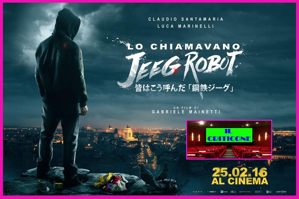 """Nuova puntatadella rubrica """"Il Criticone"""", con la recensione del più bel film italiano dell'anno, """"Lo chiamavano Jeeg Robot"""",in uscita oggi nei cinema! Dopo una rocambolesca fuga per le strade di […]"""