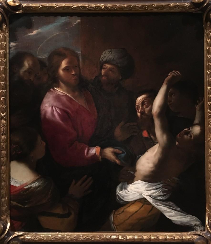 Mattia Preti - La guarigione dell'indemoniato secondo il vangelo di Matteo (17, 14-18)4_o