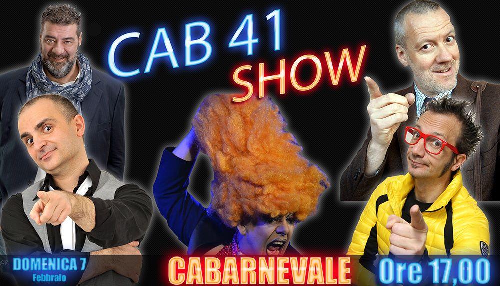 A Torino, sta piovendo, fa freddo, non si può andare a festeggiare il Carnevale nelle varie piazze… Quindi? Venite al Cab41 alle 17,00 per farvi qualche risata insieme ai comici […]