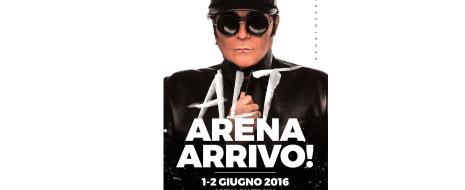 Reclamato a gran voce dai propri fan, RENATO ZERO torna live a oltre due anni di distanza dall'ultimo tour! L'1 e 2 giugno, infatti, l'artista si esibirà nella prestigiosa location […]