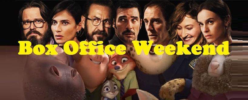 """Nuovo appuntamento con """"Box office weekend"""" e gli incassi del fine settimana cinematografico italiano. Prime posizioni invariate in classifica, con il film d'animazione """"Zootropolis"""" che, al terzo weekend di programmazionein […]"""