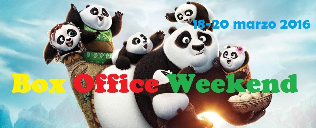 """Altro appuntamento con la rubrica """"Box Office Weekend"""", in cui analizzeremo i risultati del fine settimana cinematografico. Com'era prevedibile, il ritorno dell'amatissimo panda Po con il film d'animazione """"Kung Fu […]"""