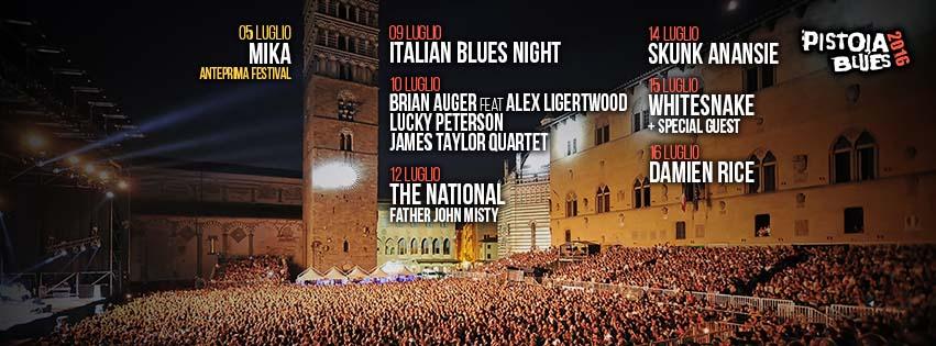 PISTOIA – Sono già sette le serate confermate dalla 37esima edizione del Pistoia Blues Festival 2016 e, anche se il cartellone non è ancora definitivo e potrebbero arrivare altre sorprese, […]