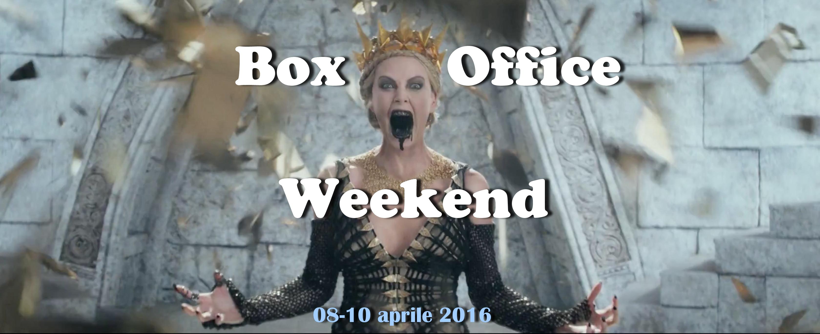 """Secondo appuntamento di aprile con""""Box Office Weekend"""" e gli incassi del fine settimana cinematografico. Cominciano a sentirsi gli effetti della primavera, con incassi mediamente in calo. Scossone notevole in testa […]"""