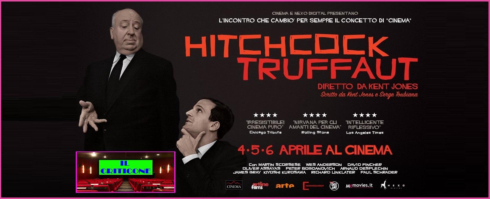 """Solo per 3 giorni, il 4-5-6 aprile è possibile vedere al cinema il bel documentario """"Hitchcock / Truffaut"""" di Kent Jones, giàpresentato all'ultima Festa del Cinema di Roma. Nel 1962 […]"""