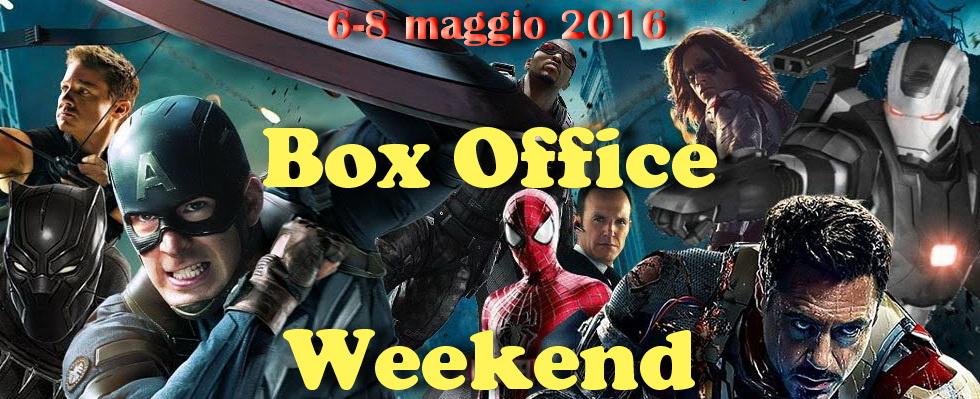 """Nuovo appuntamento di maggio con""""Box Office Weekend"""" e gli incassi del fine settimana cinematografico. Trionfo annunciato in tutto il mondo per """"Captain America:Civil War"""", grazie allo scontro frontale tra i […]"""
