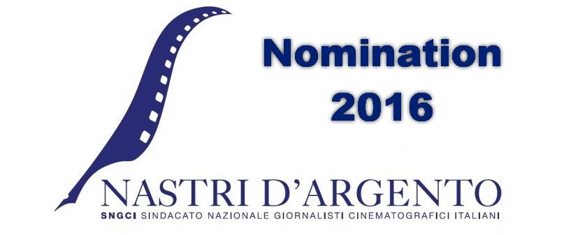 Dopo le nomination per iGlobi d'oro (leggi l'articolo), diffuse ieri, oggi è la volta di quelle per i Nastri d'Argento 2016, il premio assegnato dal sindacato dei giornalisti cinematografici SNGCI. […]