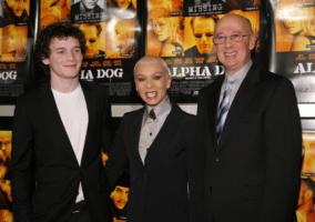 Anton Yelchin con i genitori