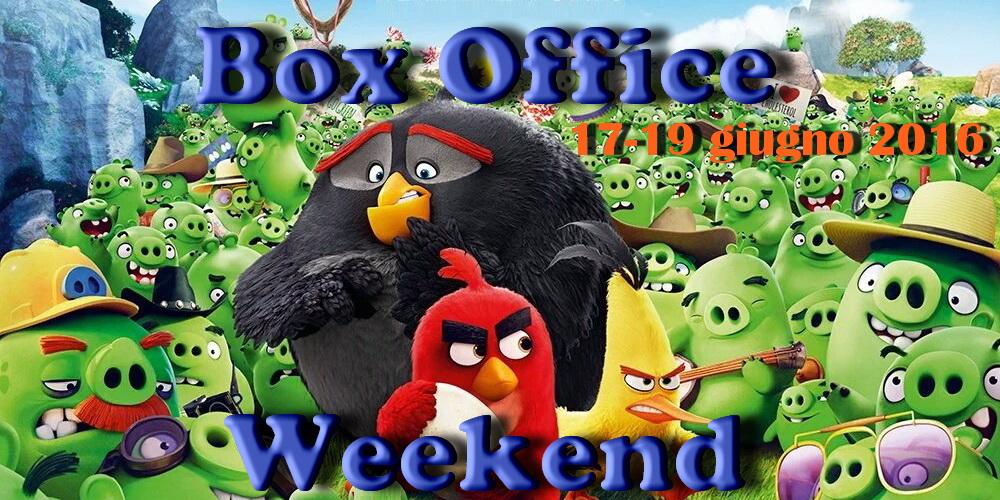 """Terzo appuntamento di giugno con """"Box Office Weekend"""" e gli incassi del fine settimana cinematografico. Gli uccelli arrabbiati di """"Angry Birds – Il film"""" volano in testa alla classifica portando […]"""