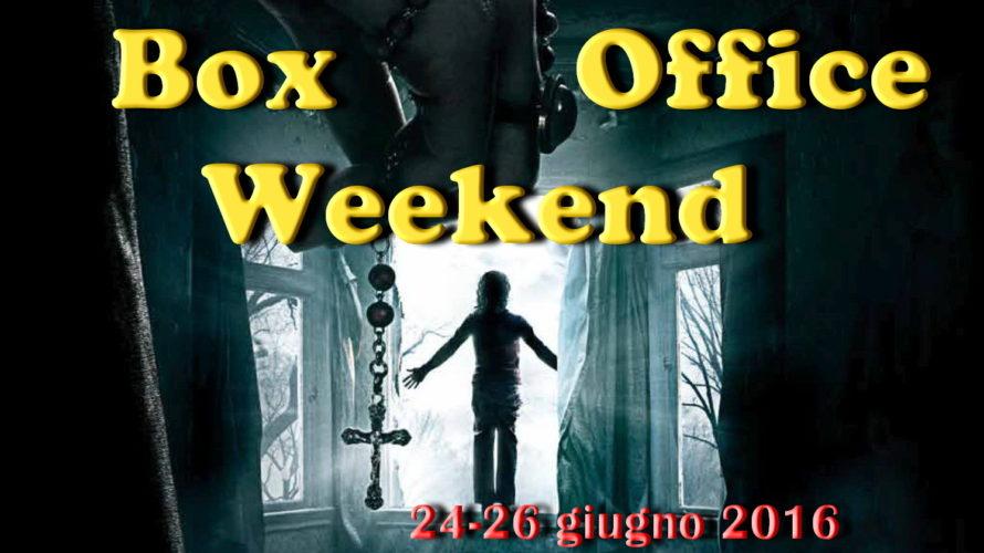 """Ultimo appuntamento di giugno con """"Box Office Weekend"""" e gli incassi del fine settimana cinematografico. Dopo i clamorosi40 milioni di dollaridel primo weekend americano, è il buon horror """"The Conjuring […]"""