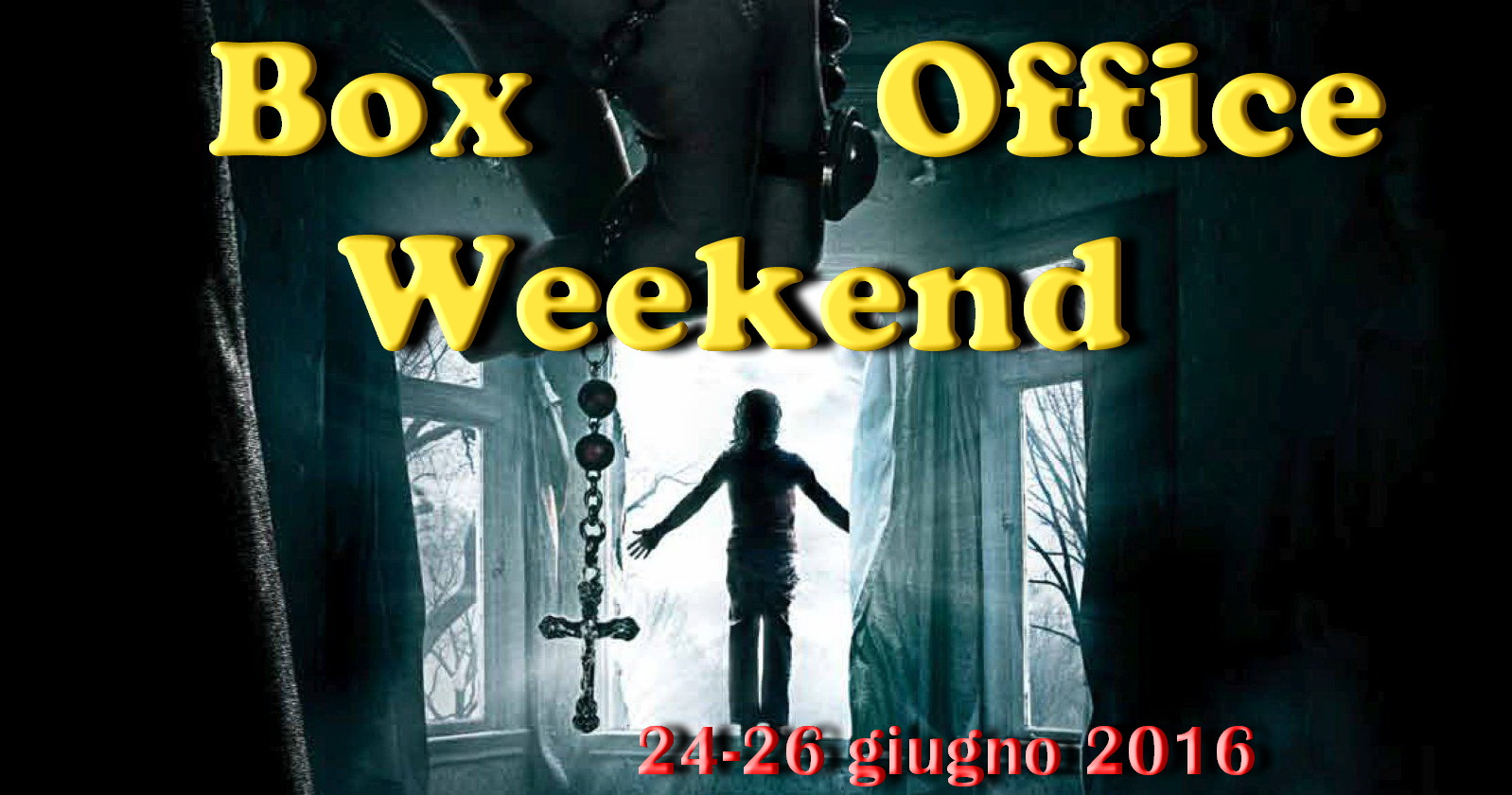 "Ultimo appuntamento di giugno con ""Box Office Weekend"" e gli incassi del fine settimana cinematografico. Dopo i clamorosi 40 milioni di dollari del primo weekend americano, è il buon horror ""The Conjuring […]"