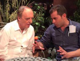 Stefano con Dario Argento