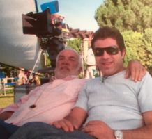 Stefano con Franco Di Giacomo