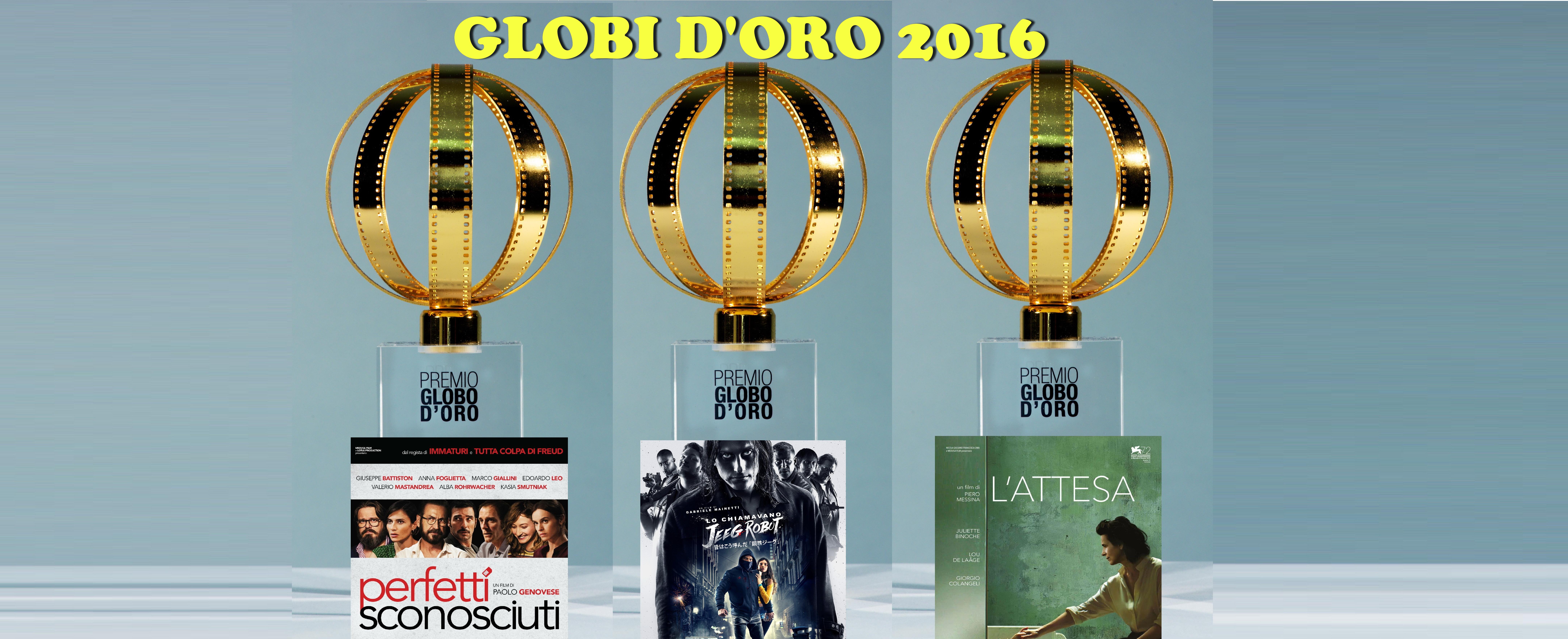 L'Associazione della Stampa Esteraha annunciatoi vincitori deiGlobi d'Oro 2016, i premi della Stampa Estera ai film italiani (o i Golden Globes italiani, se preferite), arrivati alla 56a edizione.I riconoscimenti saranno […]