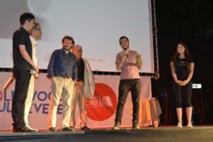 """36° Fantafestival - Premiazione - Fulvio Risuleo premiato per """"Varicella"""""""