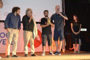 """36° Fantafestival - Premiazione - Roberto Del Piccolo e David White ritirano il premio per """"My Little Sister"""""""