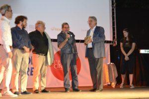 """36° Fantafestival - Premiazione - Bernardo Bergeret ritira il premio per """"Testigo Íntimo"""""""