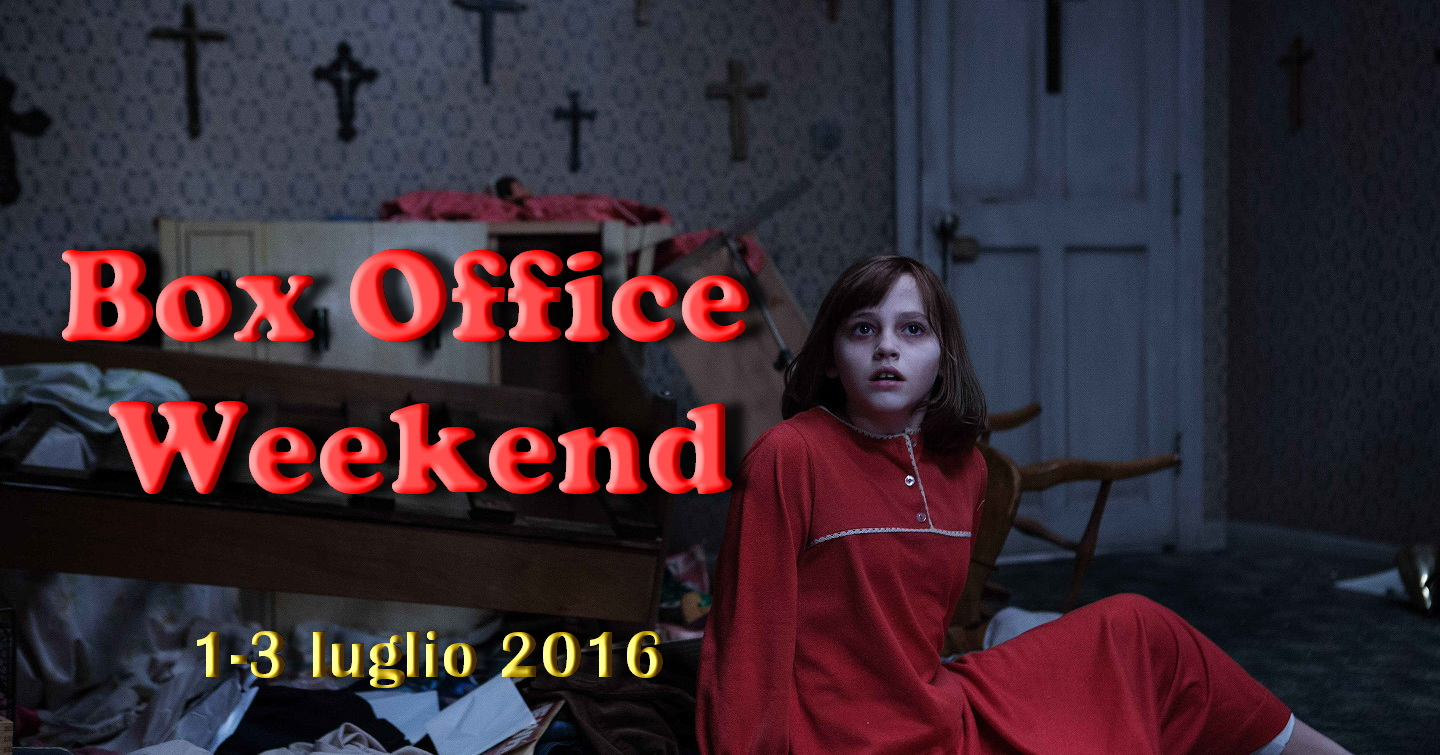 box office weekend tutti al mare e pochi in sala resta in testa the conjuring 2. Black Bedroom Furniture Sets. Home Design Ideas