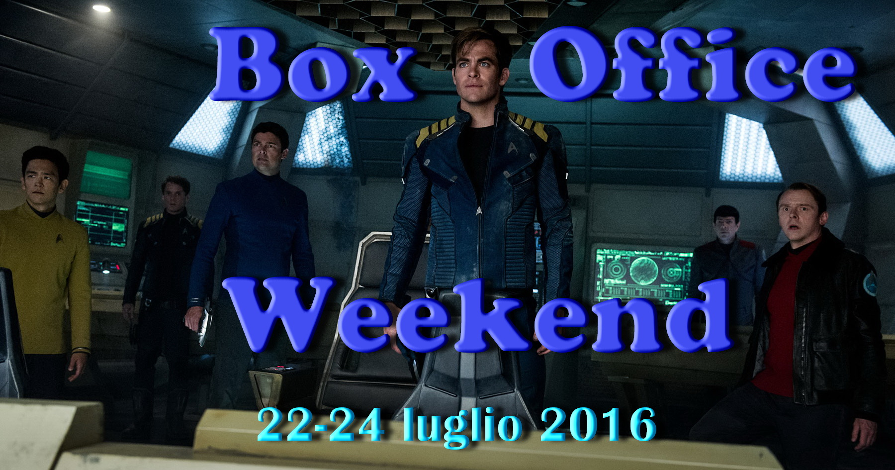 "Ultimo appuntamento di luglio con la rubrica ""Box Office Weekend"" e gli incassi del fine settimana cinematografico. Come previsto è sbarcata in testa alla classifica l'astronave Enterprise di Star Trek Beyond, […]"