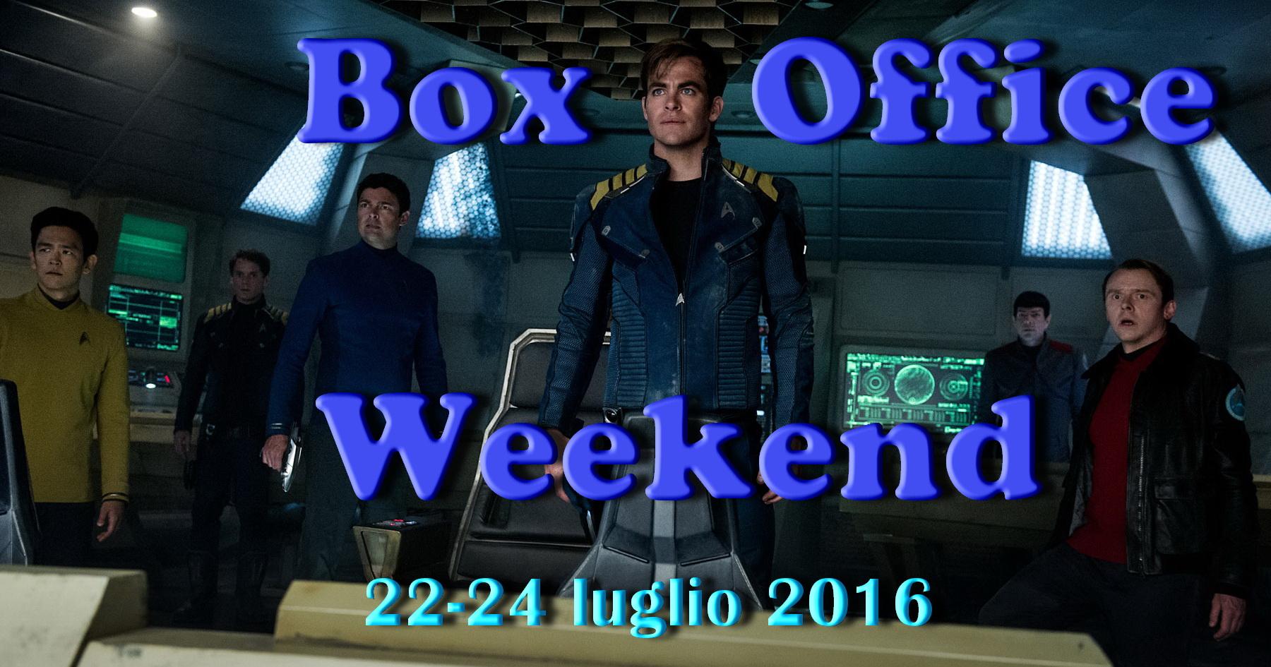 """Ultimo appuntamento di luglio con la rubrica """"Box Office Weekend"""" e gli incassi del fine settimana cinematografico. Come previsto è sbarcata in testa alla classifica l'astronave Enterprise diStar Trek Beyond, […]"""