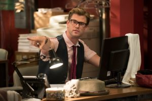 Ghostbusters - Il segretario Kevin (Chris Hemsworth)