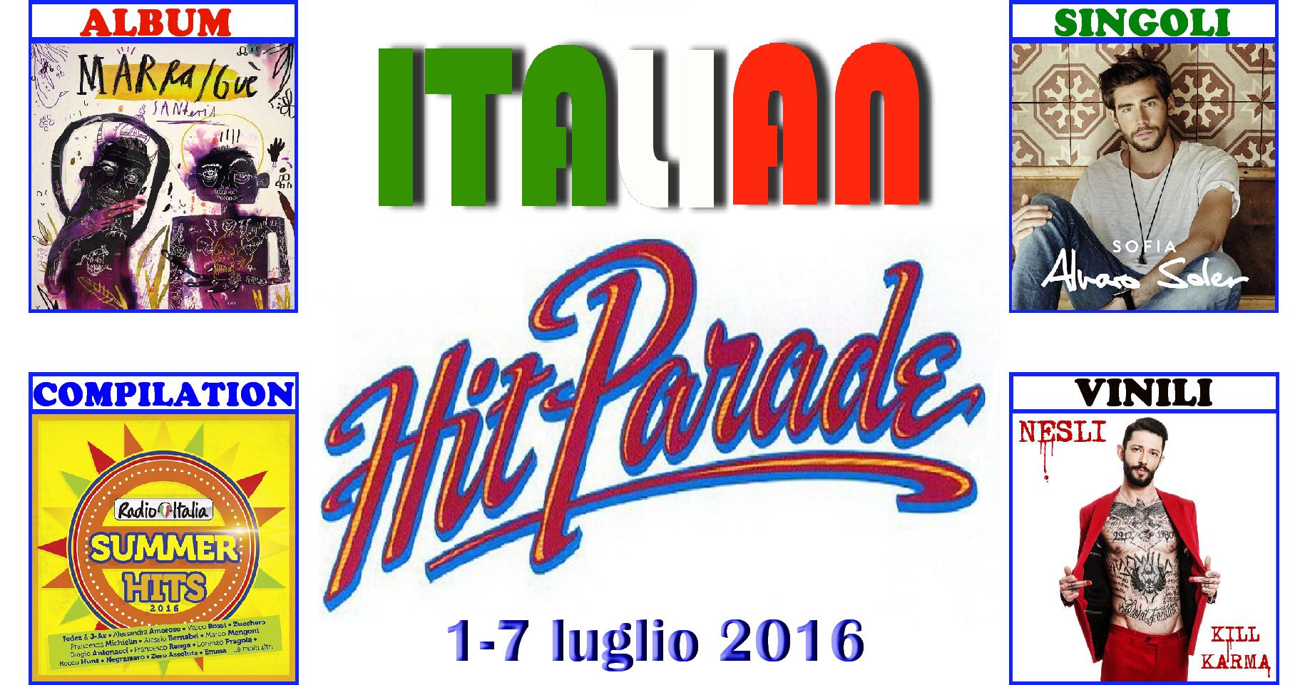 """Secondo appuntamento di luglio con la rubrica """"Italian Hit Parade"""" e la classifica dei dischi più venduti in Italia. E' ancora il rap targato Universal a dominare la settimana discograficacon […]"""