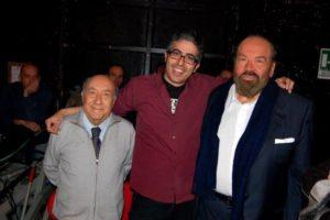 Luca Rea con Enzo Cannavale e Bud Spencer