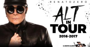 Renato Zero - Alt in Tour main